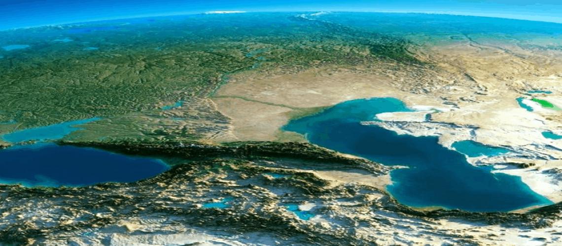 הקווקז בתמונת לווין
